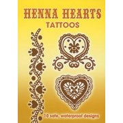 Tattoos: Henna Hearts Tattoos (Paperback)