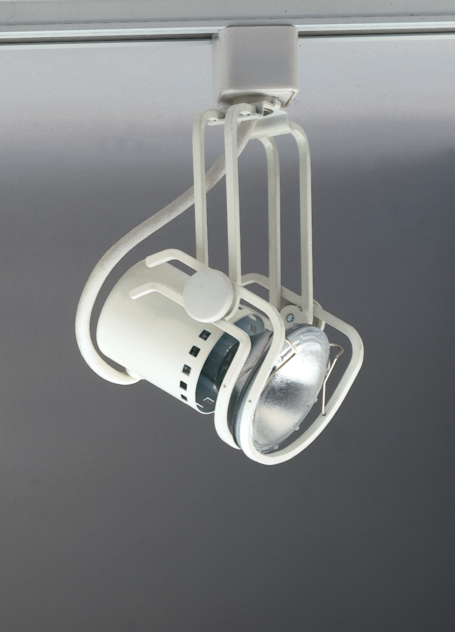PLC Track Lighting 1 Light Pier-120v. Collection TR111 BK by PLC Lighting