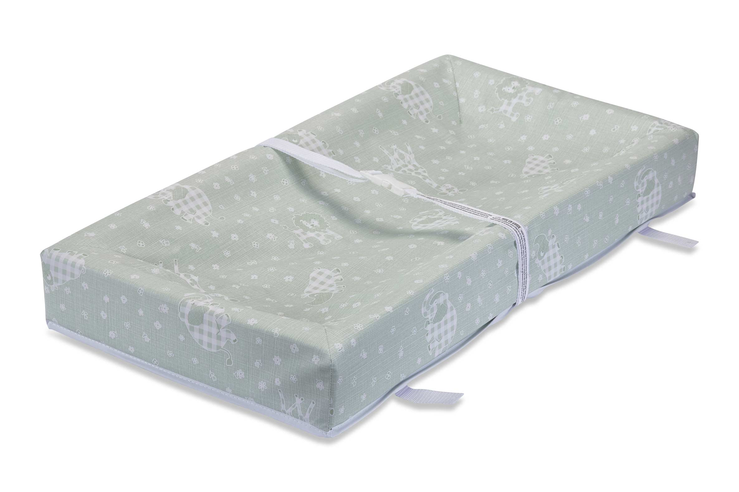 L.A. Baby 4-Sided Square-Corner Changing Pad, Green by L.A. Baby
