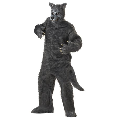 Big Bad Wolf Plus Size Costume - Plus Size Big Bad Wolf Costume