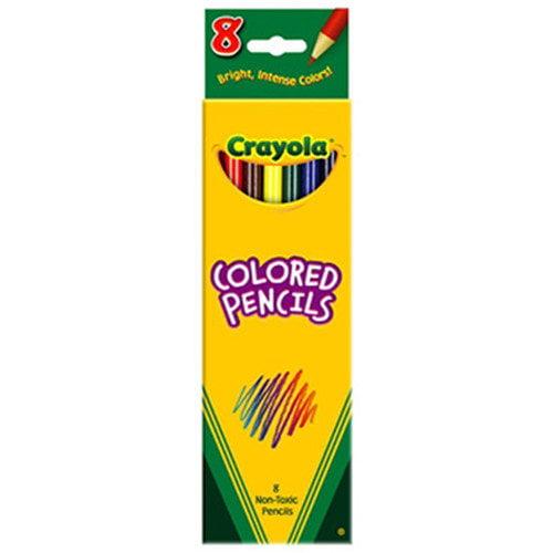 Crayola LLC Colored Pencils-8 Ct Assorted (Set of 4)