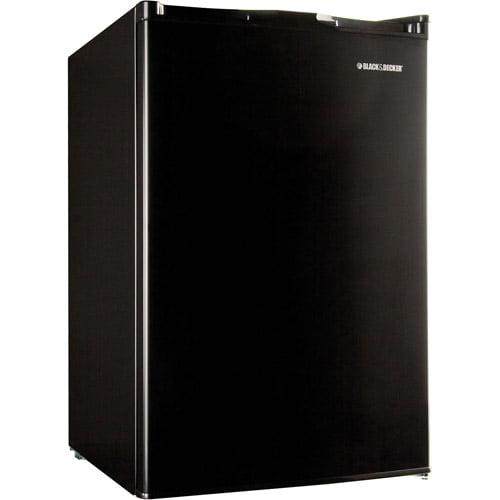 Black & Decker 4.5-cu ft Refrigerator, Black