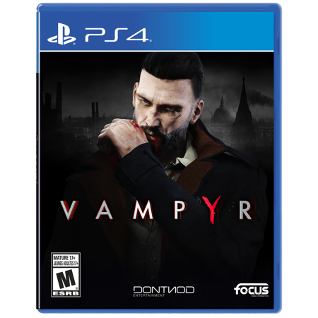 Focus Home Interactive Vampyr, Maximum, PlayStation 4, 854952003745