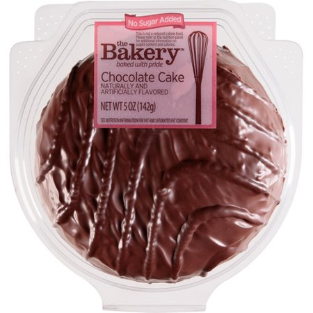 Walmart Credit Card Review >> The Bakery at Wal-Mart Chocolate Cake, 5 oz - Walmart.com