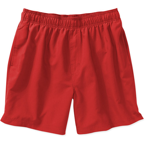 Faded Glory - Men's Solid Swim Shorts