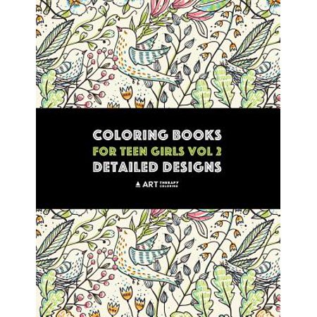 Coloring Books for Teen Girls Vol 2