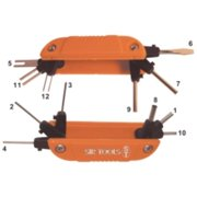 Sir Tools ST9025 Fold-up Wire Terminal Extractor Kit With 12 Barbs
