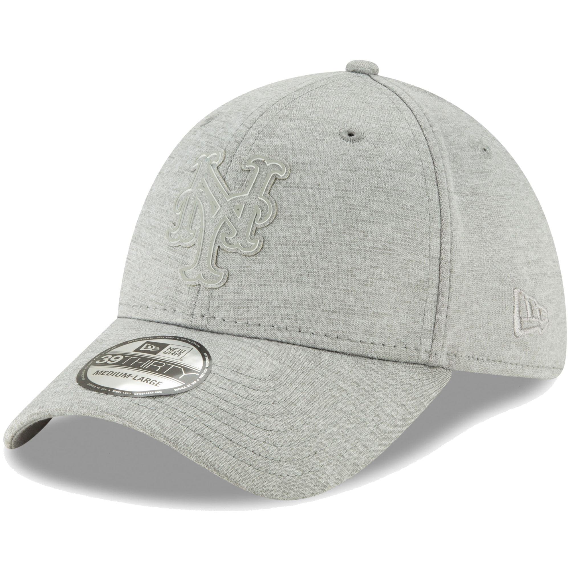 New York Mets New Era Logo Shade 39THIRTY Flex Hat - Gray