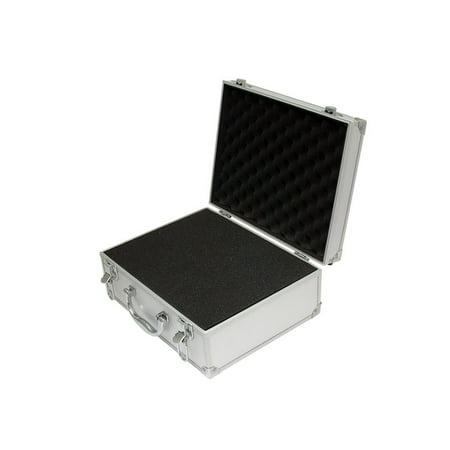 Semi Hard Camera Case - A009 - Aluminum Hard Case with Foam - DJ, Camera - 12.2