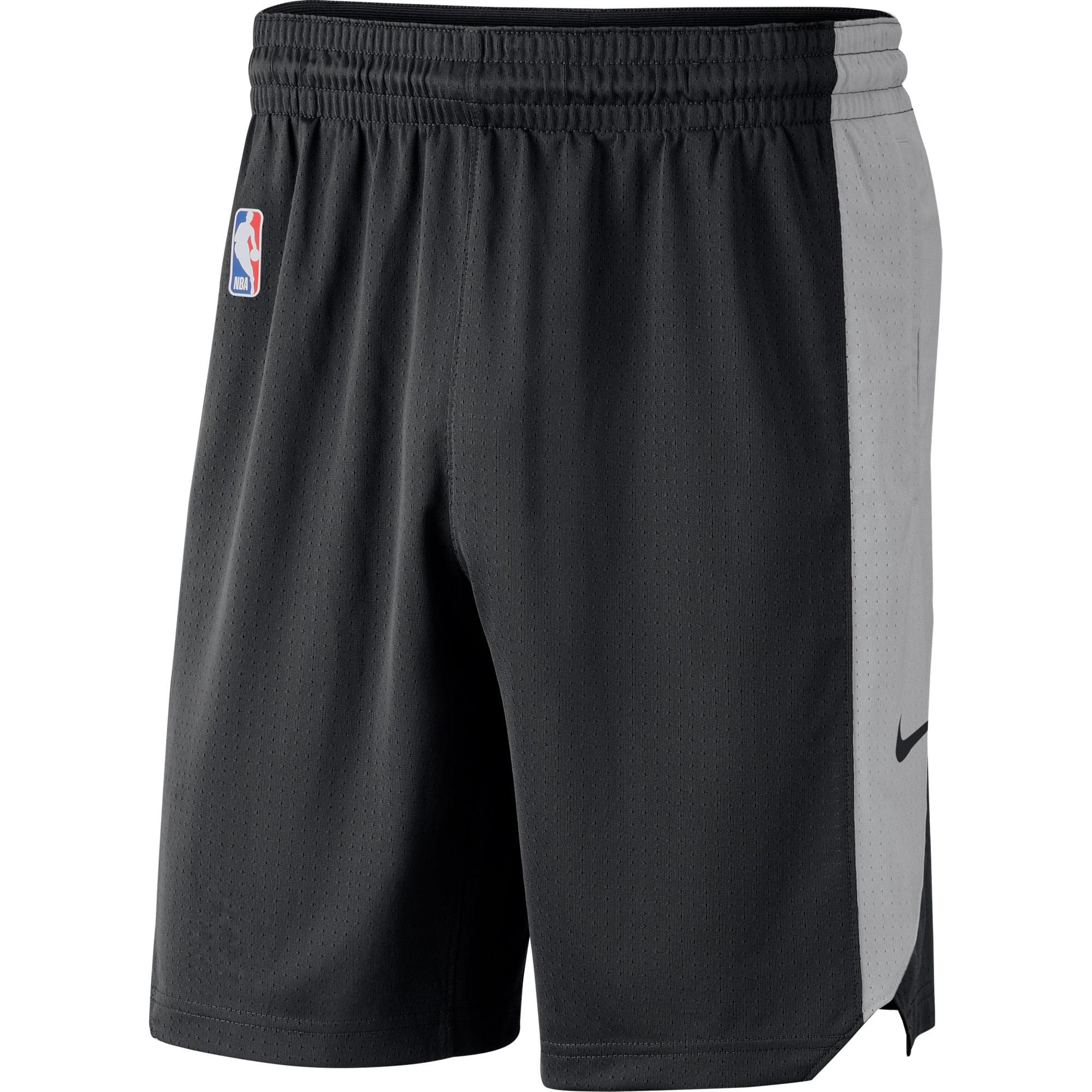 Brooklyn Nets Nike Performance Practice Shorts - Black