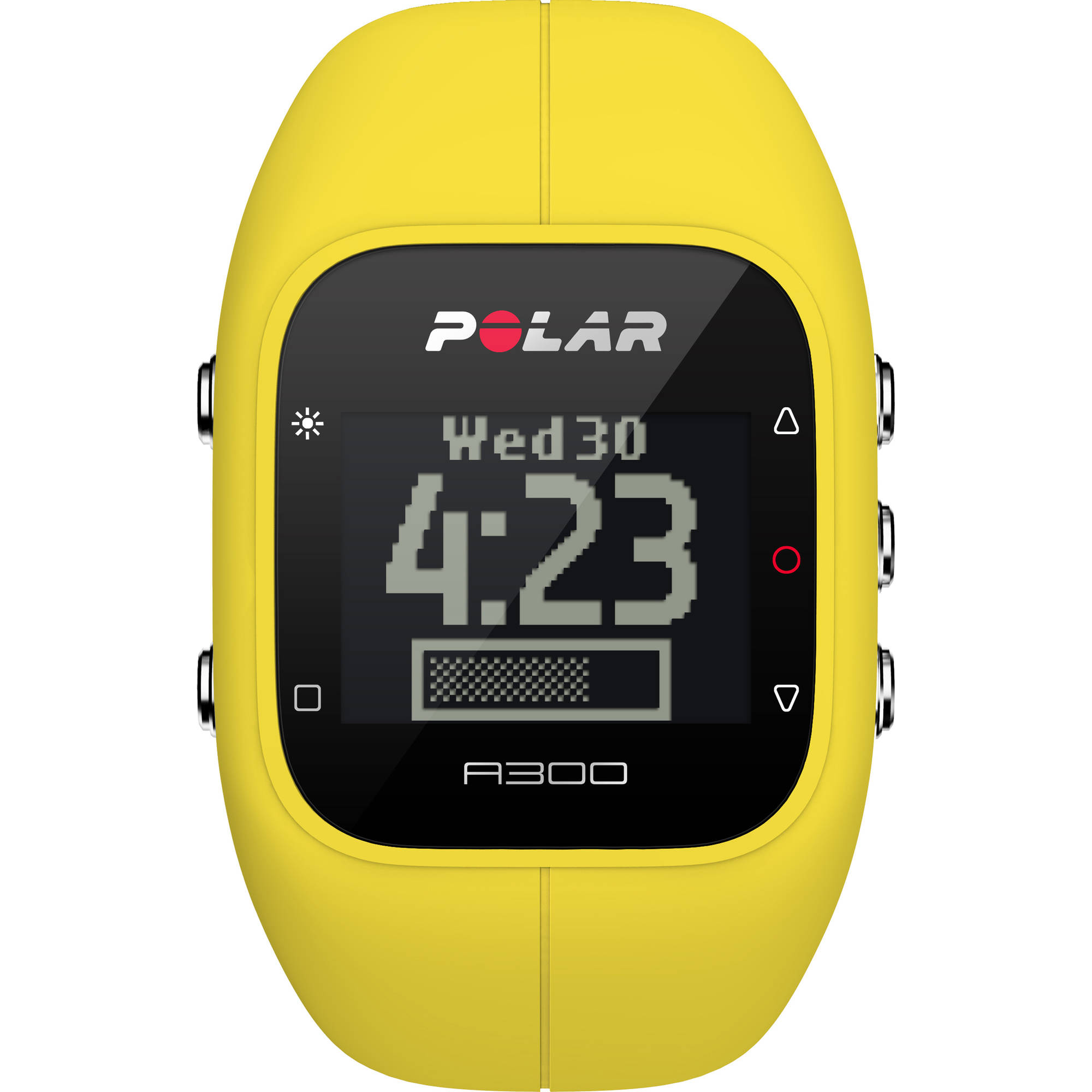 Polar A300 Fitness and Activity Tracker, Yellow