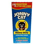 Cat Litter Box Liners 5 / Box (3 Pack) By JONNY CAT