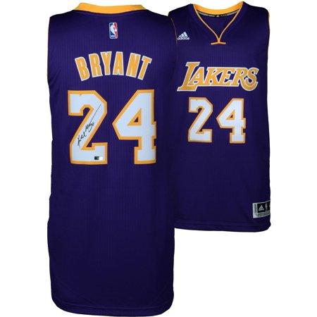 new style e4427 5cb6c Kobe Bryant Autographed Swingman Purple Jersey - Panini Authentic -  Fanatics Authentic Certified