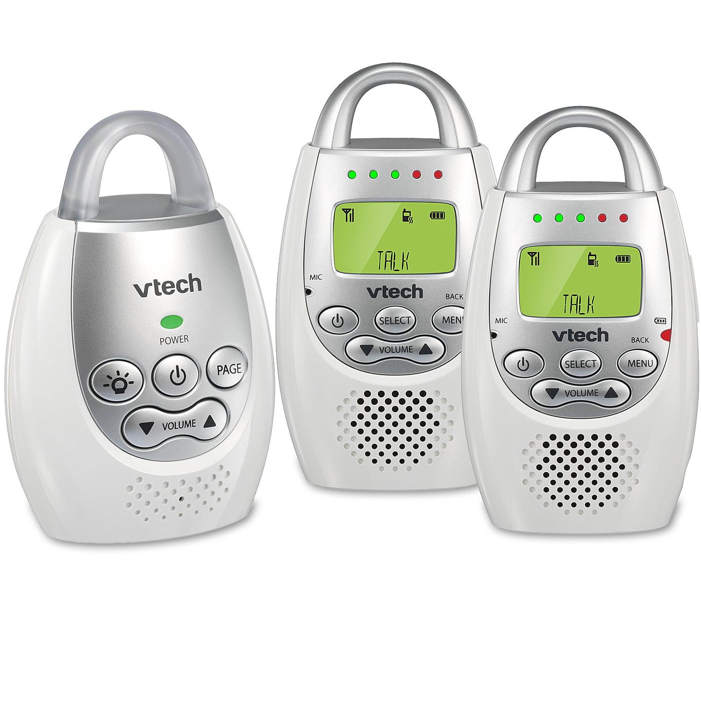VTech DM221-2 Safe & Sound DECT 6.0 Two Parent Unit Digital Audio Baby Monitor by VTech