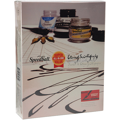 Speedball All-In-One Lettering & Calligraphy Set