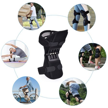 Joint Support Brace Knee Pads Booster Lift Squat Sports Power Spring Force - image 1 de 5