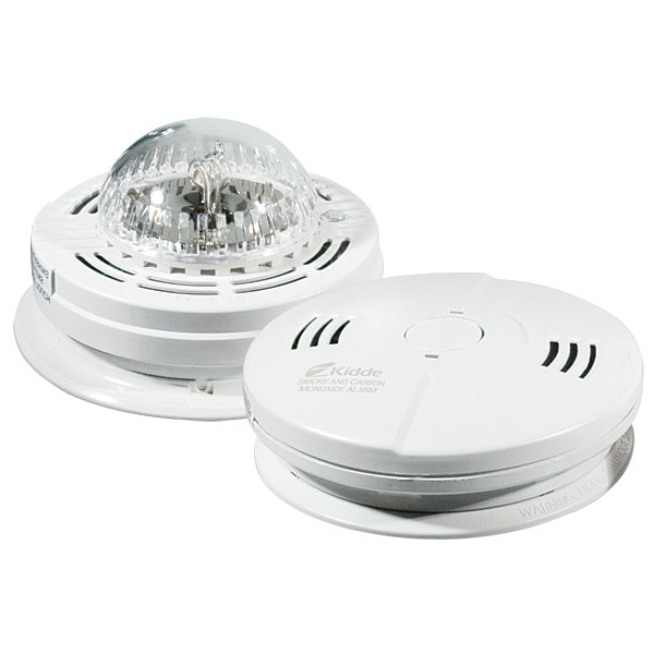 Kidde Combo Carbon Monoxide and Smoke Alarm with Strobe Light