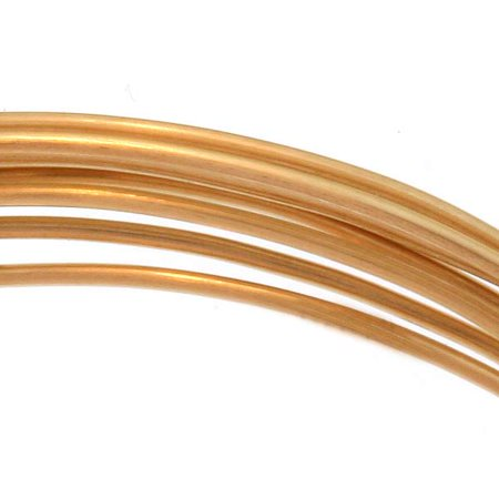 14K Gold Filled Wire 20 Gauge Round Dead Soft (5 Feet)