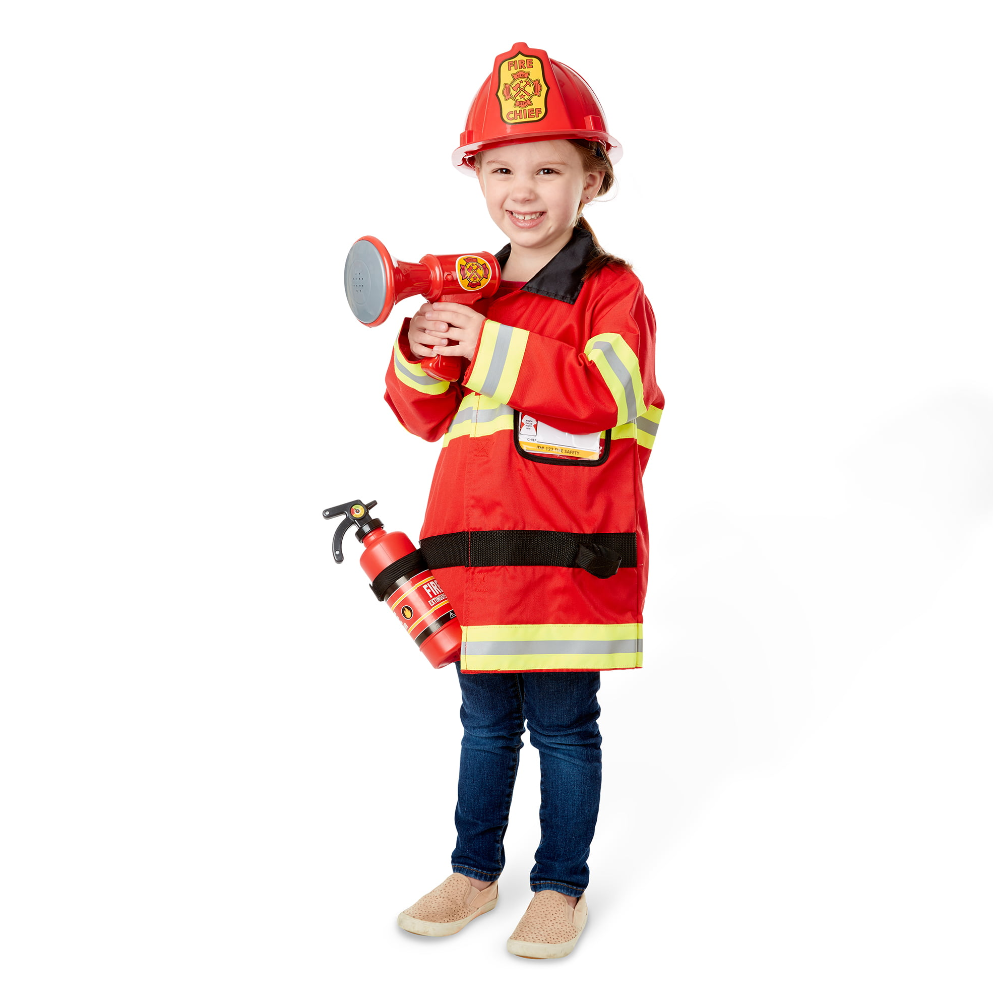 Melissa & Doug Fire Chief Role Play Costume Dress-Up Set by Melissa and Doug