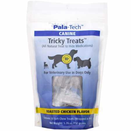 Pala-Tech Canine Tricky Treats - Roasted Chicken Flavor (5.29 oz)