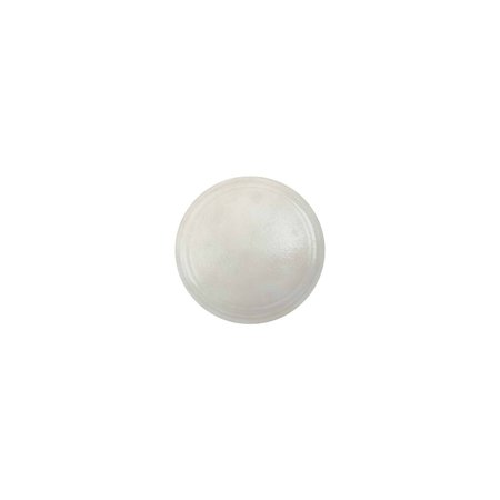 MACs Auto Parts  47-21259 Dome Lamp Lens - Milky White Color - Replacement Lens For The Round Dome Light - Ford ()