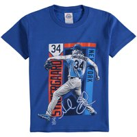 Noah Syndergaard New York Mets Youth Color Block Player Series Graphic T-Shirt - Royal