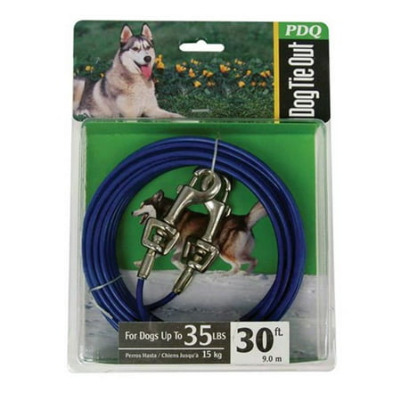 Orrville Q2330-000-99 30 ft. Tie Out Cable for Medium Dogs - image 1 of 1
