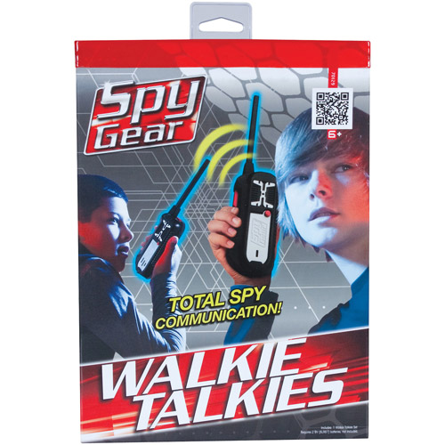 Spy Gear Walkie Talkies