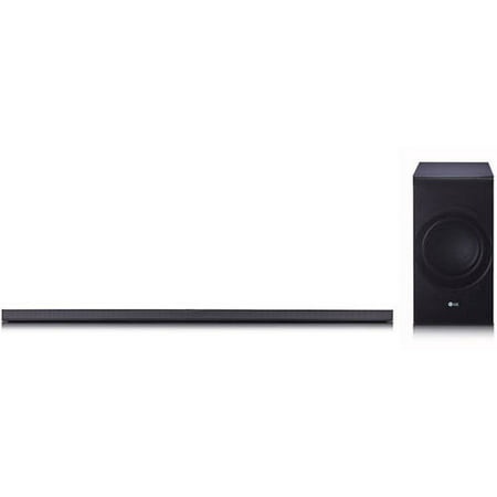 LG SJ8 4.1ch High Resolution Audio Sound Bar with 24 bit Upsampling and 1.5