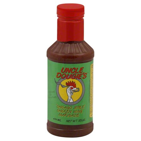 Daves Gourmet Uncle Dougies  Chicken Wing Marinade, 18 oz