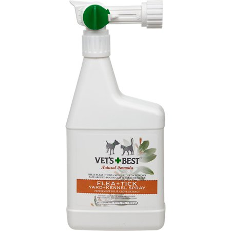 Bramton Vets Best Flea And Tick Yard And Kennel Spray