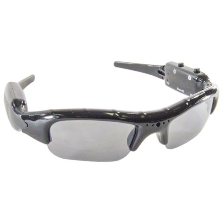 Spy Video Glasses (Video and Audio Recording Spy Sunglasses (REQUIRES MicroSD CARD 2GB OR LESS) )