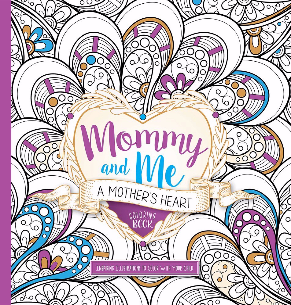 Mommy And Me Adult Coloring Book