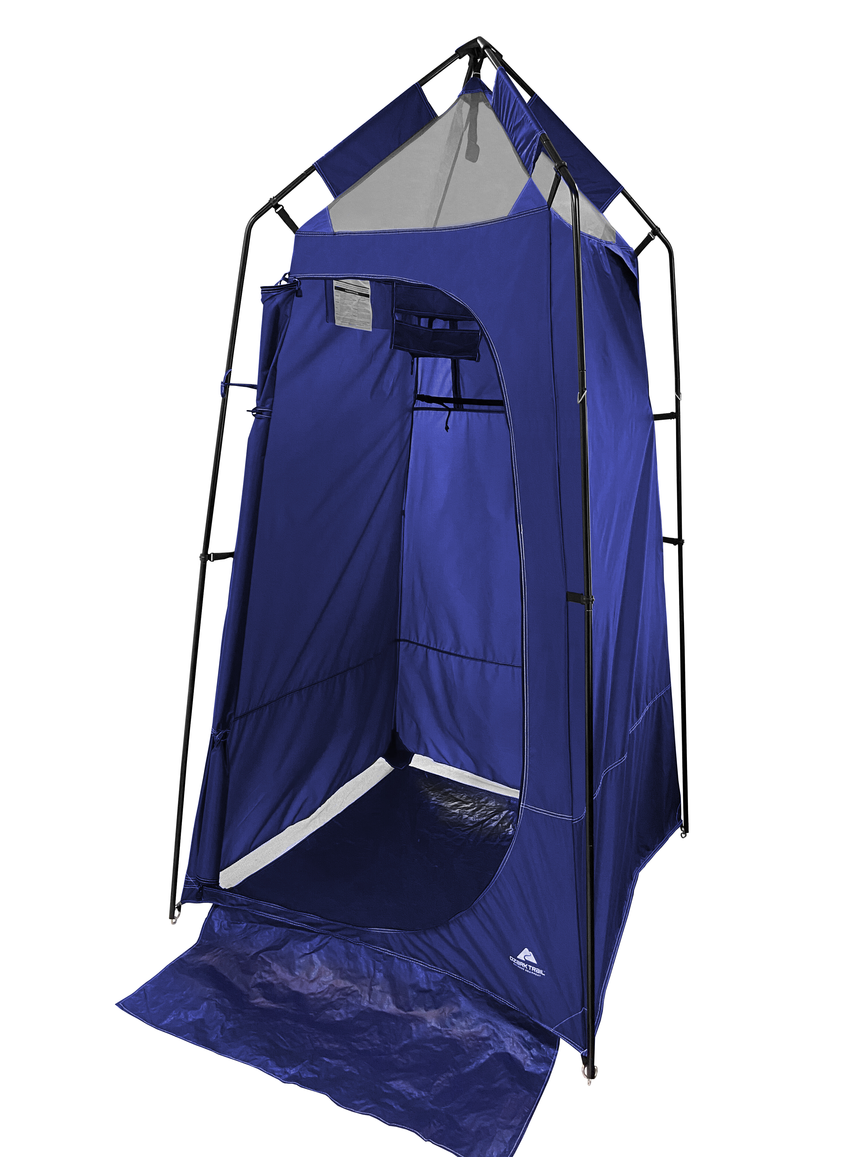 Ozark Trail Camping Shower And Utility Tent With Waterproof Bottom And Rain Guard Walmart Com Walmart Com