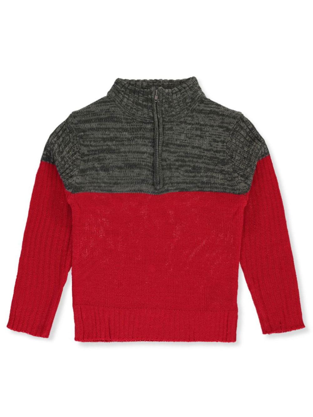 Sezzit Boys Zip Neck Sweater