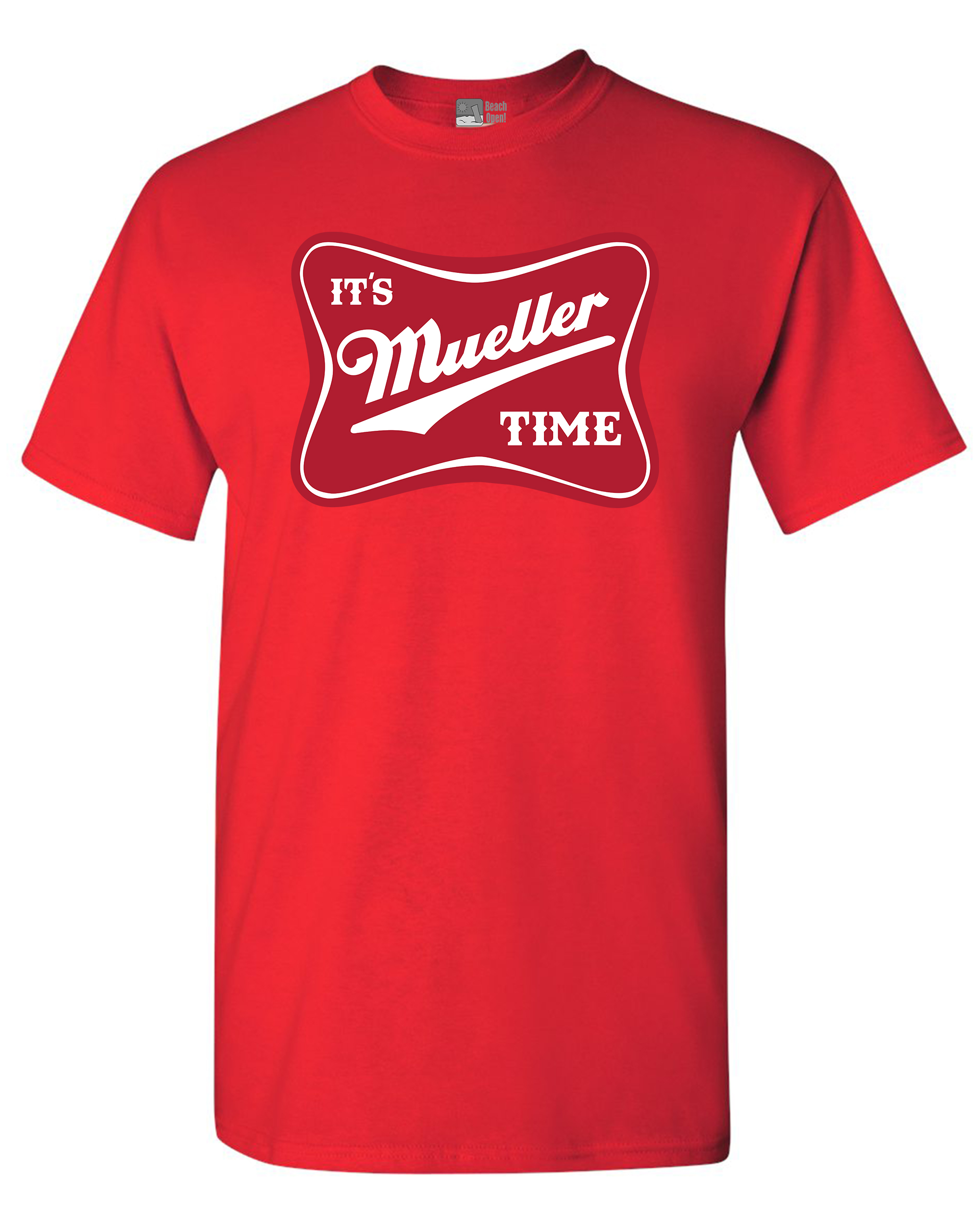 It's Robert Mueller Time USA Support Political DT Adult T-Shirt Tee