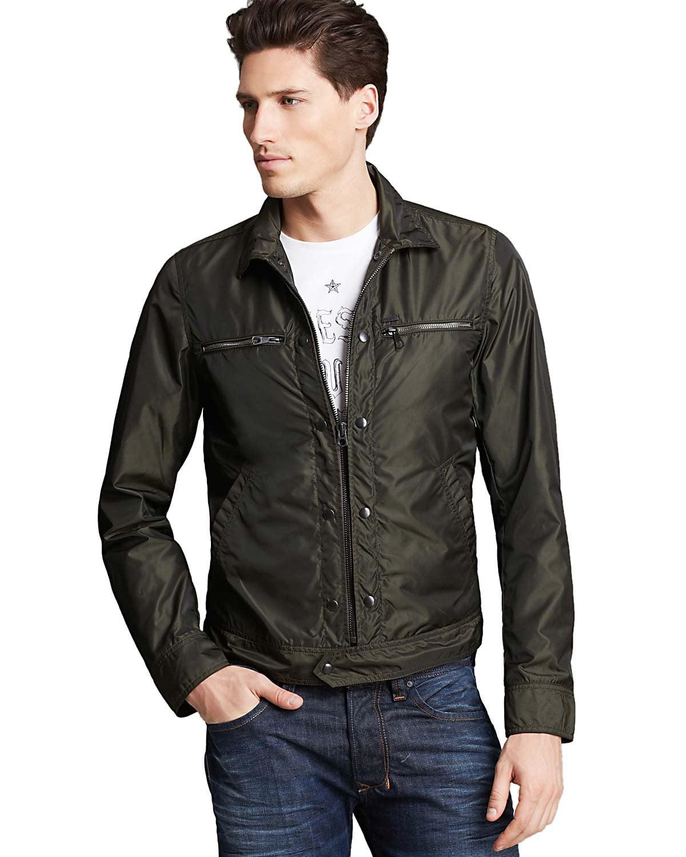 Diesel Mens J-Bintur Zipped Jacket X-Large XL Green, Retail