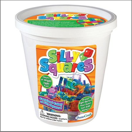 (Price/per bucket)Silly Squares 1/4lb. Bucket