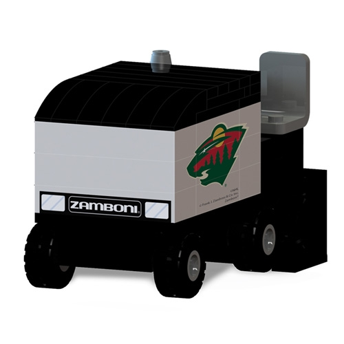 OYO Sports Minnesota Wild Zamboni Machine Building Blocks Set - No Size