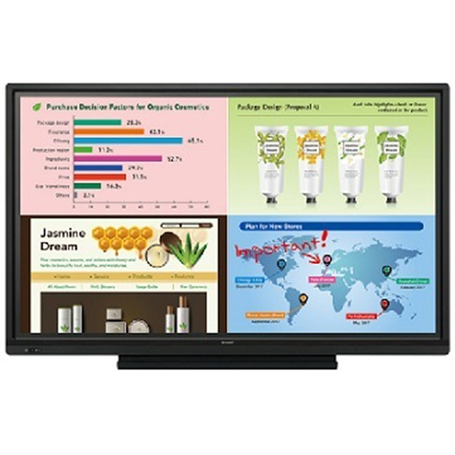 """Sharp 70"""" 1,920 x 1,080 3,000:1 HD Touch Display Built In..."""