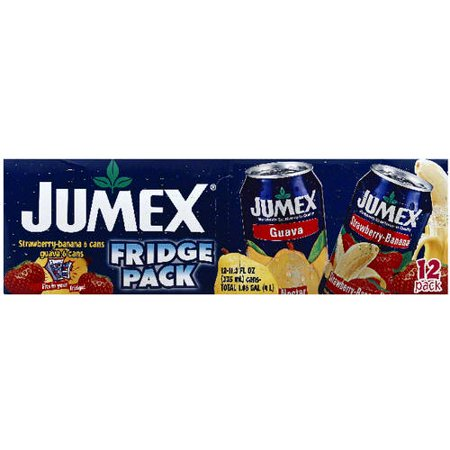 Jumex Strawberry Banana Guava Nectar Juice Drinks  11 3 Fl Oz  12 Pack