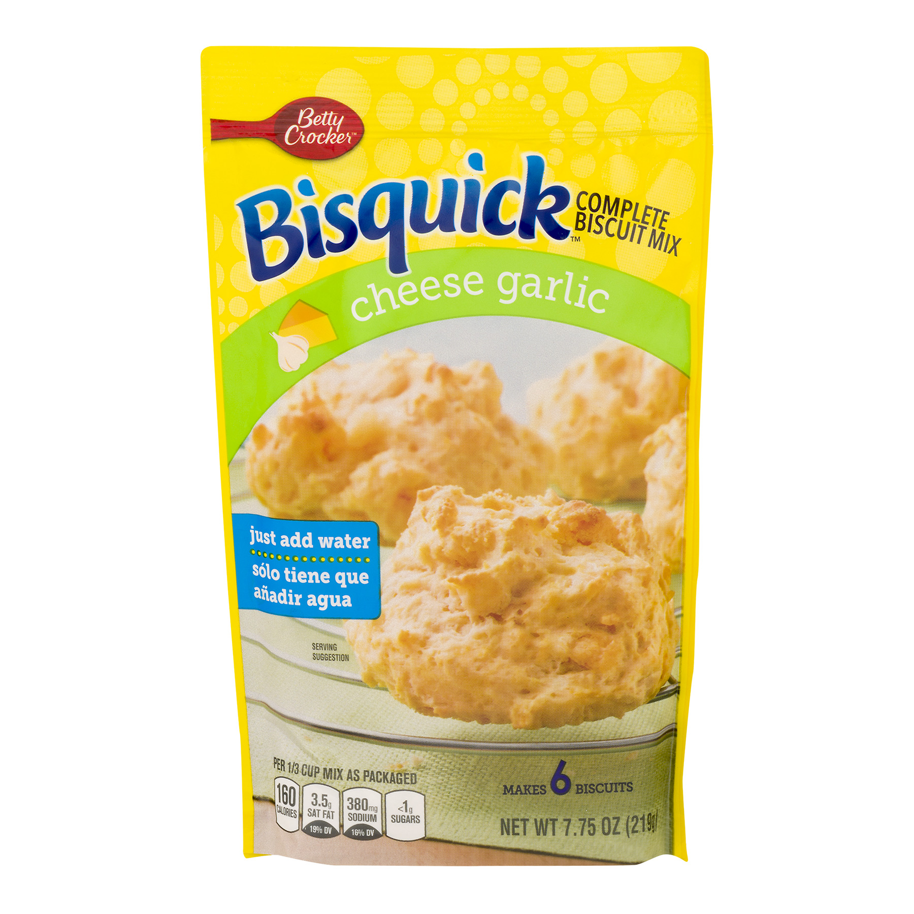 Betty Crocker Bisquick Biscuit Mix Complete Cheese Garlic