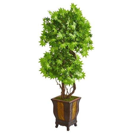 6 Maple Artificial Tree in Decorative Planter