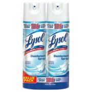 Lysol Disinfectant Spray, Crisp Linen, 25oz (2X12.5oz), Cleaner