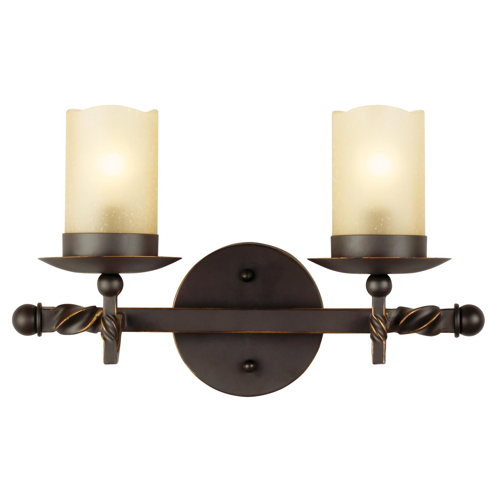 Sea Gull Lighting Trempealeau 4410602-191 2-Light Wall / Bath Light