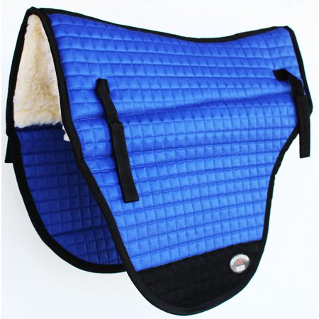 Impact Gel Western Saddle Pad - Horse SADDLE PAD Western 26X22 Endurance Fleece Cotton Quilted 39165-168