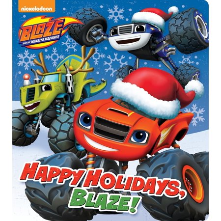 Happy Holidays, Blaze! (Blaze and the Monster Machines) - Happy Monster