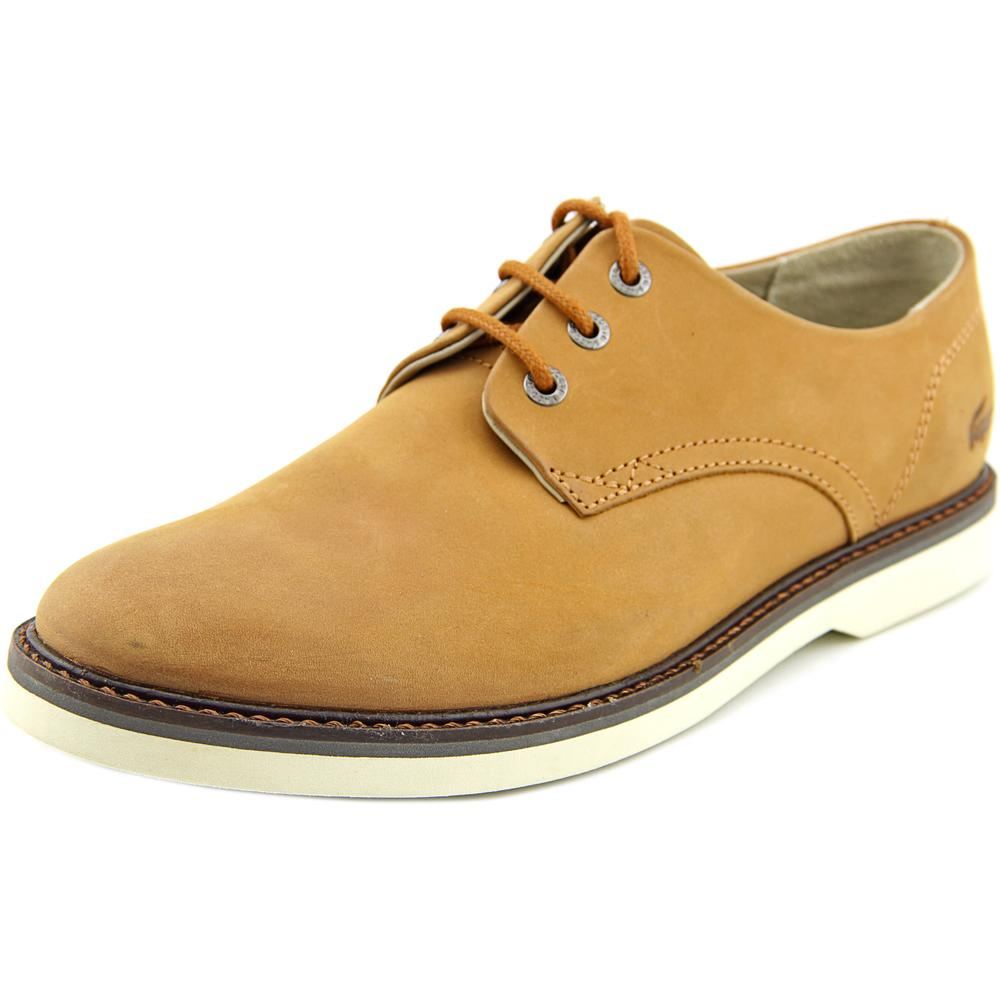 Lacoste Sherbrooke Men  Round Toe Leather  Oxford