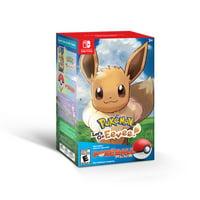 Pokemon: Let's Go, Eevee! w/ Poke Ball, Nintendo, Nintendo Switch, 045496594015