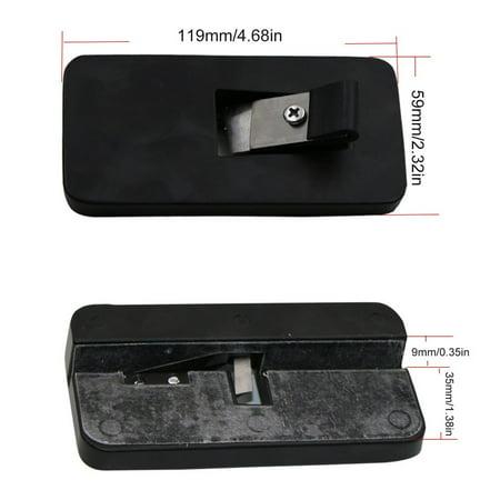 Edge Trimmer Manual PVC Banding Trimming Aluminium Alloy Woodworking Tools - image 3 de 10
